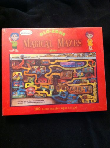 Glo-Zone Magical Mazes Jigsaw Puzzle by Ceaco