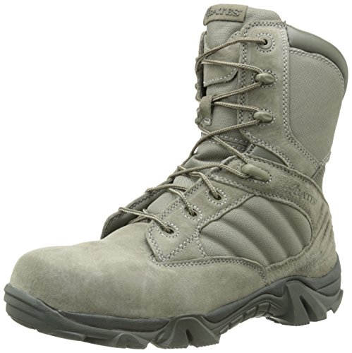 Bates Men's Gx-8 Comp Toe Side Zip Work Boot,Sage,8.5 EW US (Side Zip Sage Green compare prices)