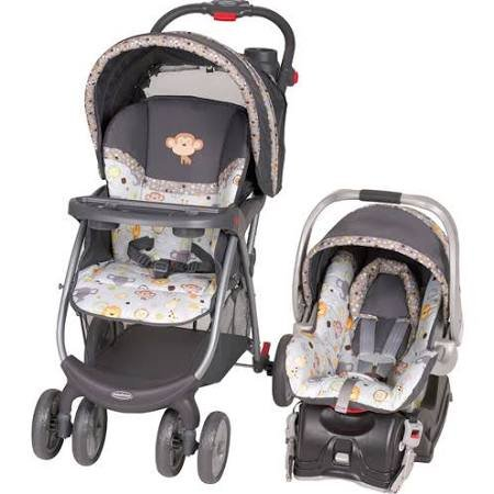 Baby Trend Envy Travel System With Flex-Loc Infant Car Seat Bobbleheads