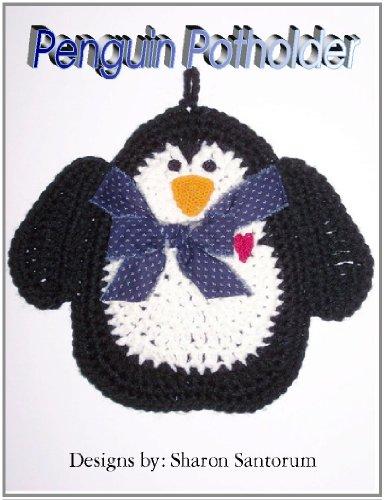 Penguin Kitchen Hot Pad Crochet Pattern