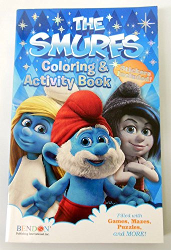 The Smurfs Coloring & Activity Book - 1