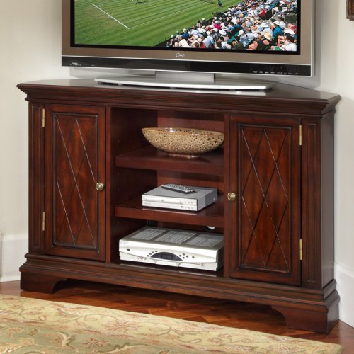 Cheap Home Styles Home Styles Windsor Corner Entertainment TV Stand in Windsor Cherry (5541-07)