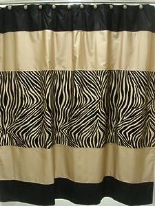 Amazon Com Sherry Kline Zuma Shower Curtain With Hook Set