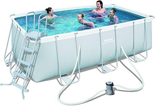Pool selber bauen swimmingpool im garten - Pool rechteckig mit pumpe ...