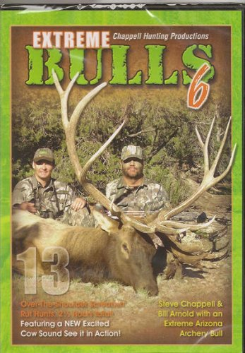 Extreme Bulls 6 ~ Elk Hunting DVD ~ Archery ~ Rifle ++