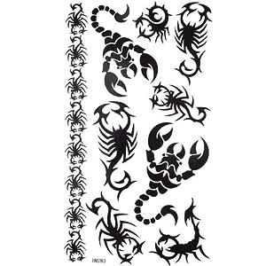 Amazon.com: GGSELL King Horse Black totem sexy scorpion waterproof