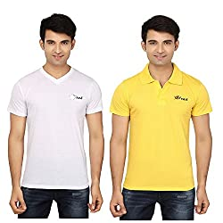 Strak Cotton Men's Casual T-Shirt (STR2028_XL)