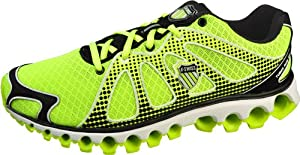 K-Swiss Men's Tubes Running Shoe,Neon Citron,10 M US