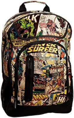Marvel Retro Backpack Men's Travel Accessory Vintage Multi One Size
