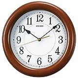 SEIKO CLOCK (セイコー クロック) 掛け時計 クオーツ 木枠 茶  KX603A
