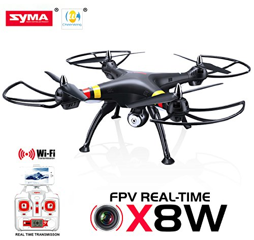 Cheerwing® Syma X8W FPV Real-time 2.4Ghz 4ch 6 Axis Gyro Headless La