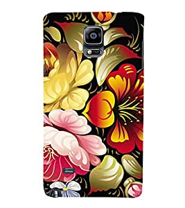 Fuson Premium Printed Hard Plastic Back Case Cover for Samsung Galaxy Note 4 Duos