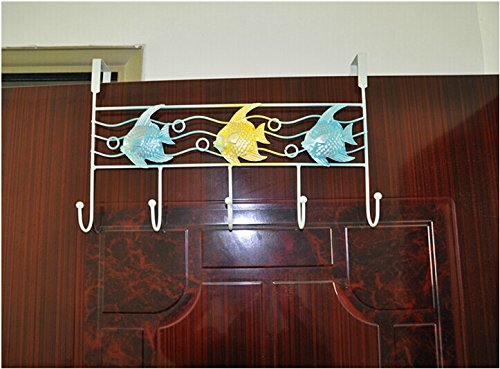 Creative Personality Behind The Iron Gate Hooks / Strong Hanger Hook / Clothes Wall / Free Nail Bag Hook front-580500