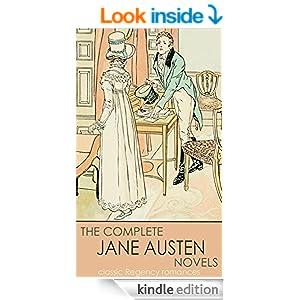 classic Regency romances THE COMPLETE JANE AUSTEN NOVELS (illustrated)