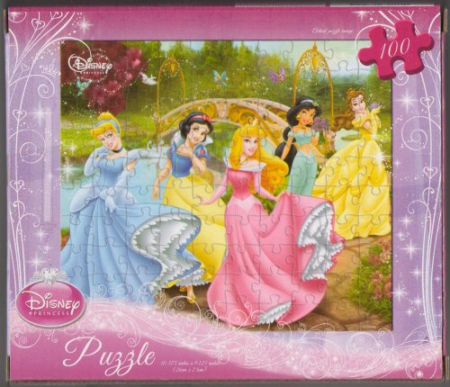 51vDK6Hp8EL Cheap Price Disney Princess Puzzle 100 Pieces