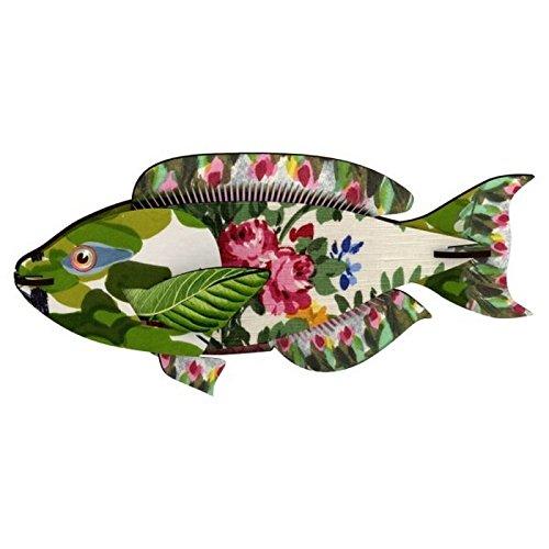 MIHO - Décoration murale trophée poisson miho seaweed joke