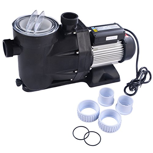 1.5HP Swimming Pool Electric Pump Water Above Ground SPA DC 5040 GPH 1-1/2″ NPT
