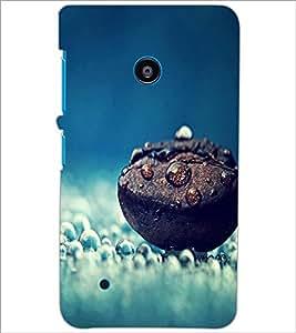 PrintDhaba Coffee Drops D-1270 Back Case Cover for NOKIA LUMIA 530 (Multi-Coloured)
