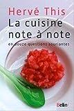 La cuisine note � note