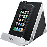 iHome iDM3SC Sleek Stereo Speaker System for iPad, iPhone, iPod and Other Audio Devices, Silver