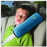 Topteam enfants kids voitures coussin oreiller de sécurité protéger cou épaules, détachable - bleu...