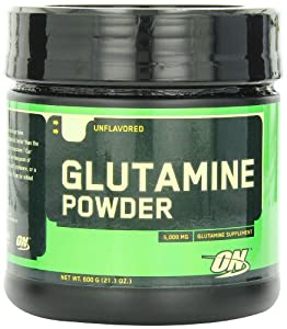 Optimum Nutrition Glutamine Muscle Recovery Powder 600 g