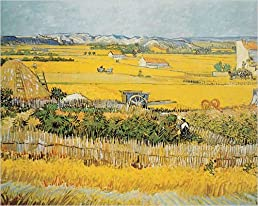 The Harvest by Vincent Van Gogh