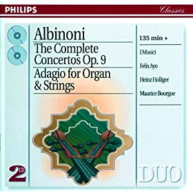 Concerto a 5 in A ,Op.9, No.4 for Violin, Strings, and Continuo - Rev. by Franz Giegling - 3. Allegro