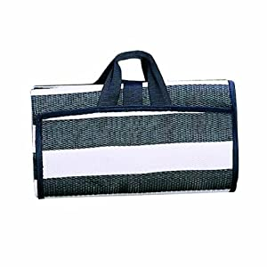 Wenzel Multi Purpose Ground Mat (Black and White Stripes)