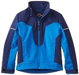 Urban Republic Little Boys' Little Boy Soft Shell Jacket, Medium Blue, 7