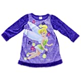 Tinkerbell Girls 2-6x Toddler Holiday Magic 2 Dorm Shirt