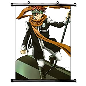"D. Gray-Man Anime Fabric Wall Scroll Poster (16"" X 24"") Inches"