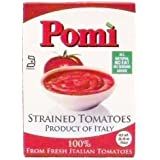 Pomi Tomatoes, Strained, 26.46-Ounce Carton (Pack of 12)