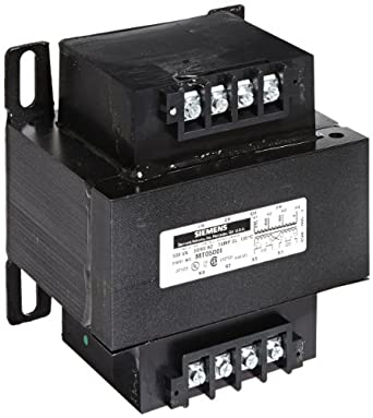 Siemens MT0750I Industrial Power Transformer, Domestic, 380/400/415 Primary Volts, 110 X 220 Secondary Volts, 750VA Rating