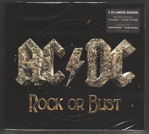 AC/DC Rock Or Bust/Studio Rarities BACKTRACKS 2CD set