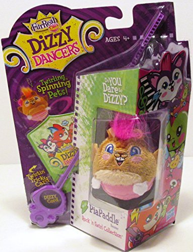 FurReal Dizzy Dancer PiaPaddle (Beaver), Rock n Swirl Collection for Ages 4+