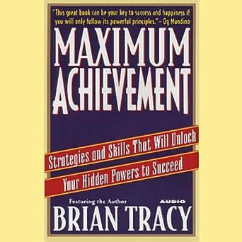 TRACY ACHIEVEMENT PDF BRIAN MAXIMUM
