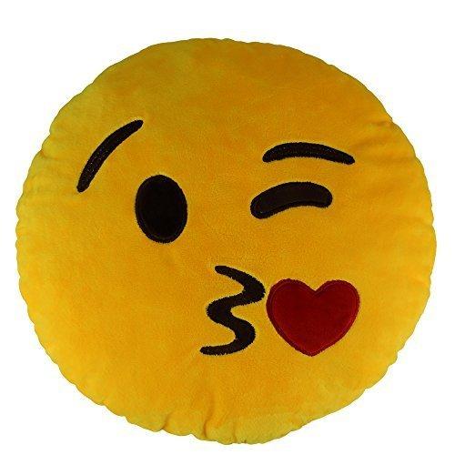 138-emoji-sweet-kiss-emoticon-round-cushion-pillow-stuffed-plush-soft-toy-gift