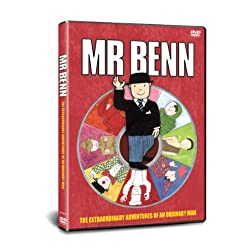 Mr Benn: Zoo Keeper Wizard Clown Magic Carpet Pira