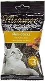 Miamor Katzensnacks Mini-Sticks Huhn & Ente 50 g, 8er Pack...