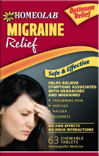 Migrane Relief, 63 Chewable Tablets