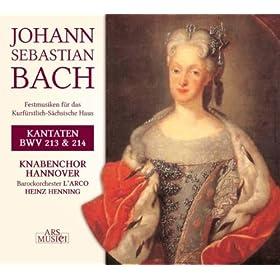Tonet, ihr Pauken! Erschallet, Trompeten!, BWV 214: Bluhet, ihr Linden in Sachsen, wie Zerdern! (Chorus)
