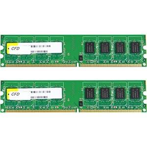 シー・エフ・デー販売 メモリ デスクトップ 240pin PC2-6400(DDR2-800) DDR2 CL5 4GB(2GBx2枚) 永久保証 W2U800CQ-2GL5J: パソコン・周辺機器