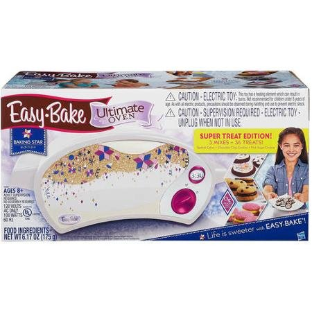 easy-bake-ultimate-oven-baking-star-super-treat-edition-with-3-mixes-for-ages-8-and-up