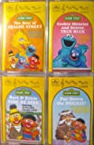img - for Sesame Street - Four Full Length Cassettes - 72 Songs [Audio Cassette} book / textbook / text book