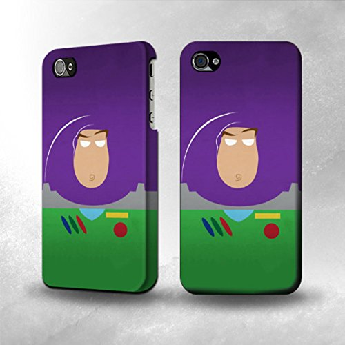 Apple Iphone 5 / 5S Case - The Best 3D Full Wrap Iphone Case - Buzz Lightyear Miunimalism