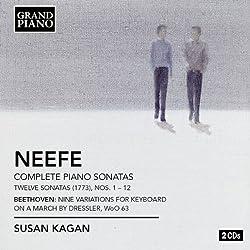 Piano Sonatas/ Variations (Grand Piano : GP615-16)