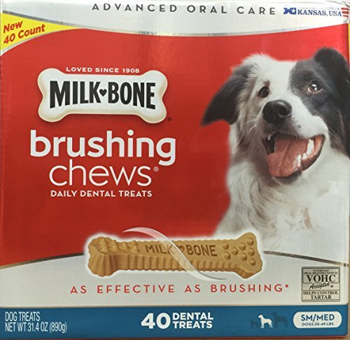 milk-bone-brushing-chews-small-medium-40-dental-treats-314oz-by-milk-bone