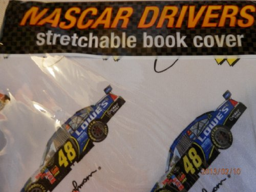Nascar, 48 Jimmie Johnson Stretchable Book Cover