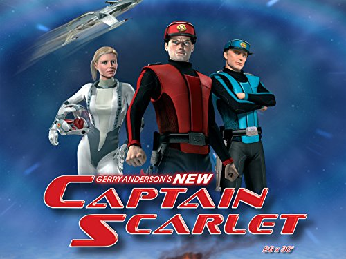 Captain Scarlet on Amazon Prime Video UK